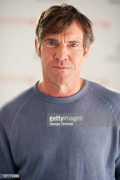 "Actor Dennis Quaid poses during the ""The Words"" Portraits at the 2012 Sundance Film Festival at Acura Studio on January 26, 2012 in Park City, Utah."