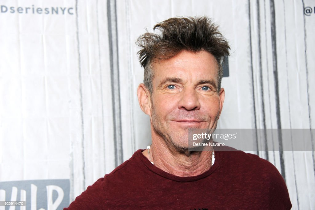 Actor Dennis Quaid visits Build Series to discuss the film 'I Can Only Imagine' at Build Studio on March 1, 2018 in New York City.