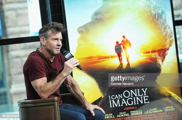 Actor Dennis Quaid visits Build Series to discuss the film 'I Can Only Imagine' at Build Studio on March 1 2018 in New York City