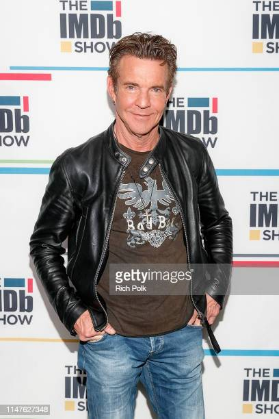 Actor Dennis Quaid visits 'The IMDb Show' on April 17, 2019 in Studio City, California. This episode of 'The IMDb Show' airs on May 9, 2019.