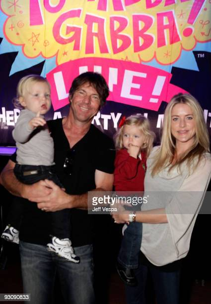 "Actor Dennis Quaid , wife Kimberly Quaid and children attend the first ever Yo Gabba Gabba! : ""There's A Party In My City"" live performance at The..."