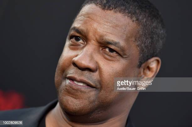 Actor Denzel Washington attends the premiere of Columbia Picture's 'The Equalizer 2' at TCL Chinese Theatre on July 17 2018 in Hollywood California