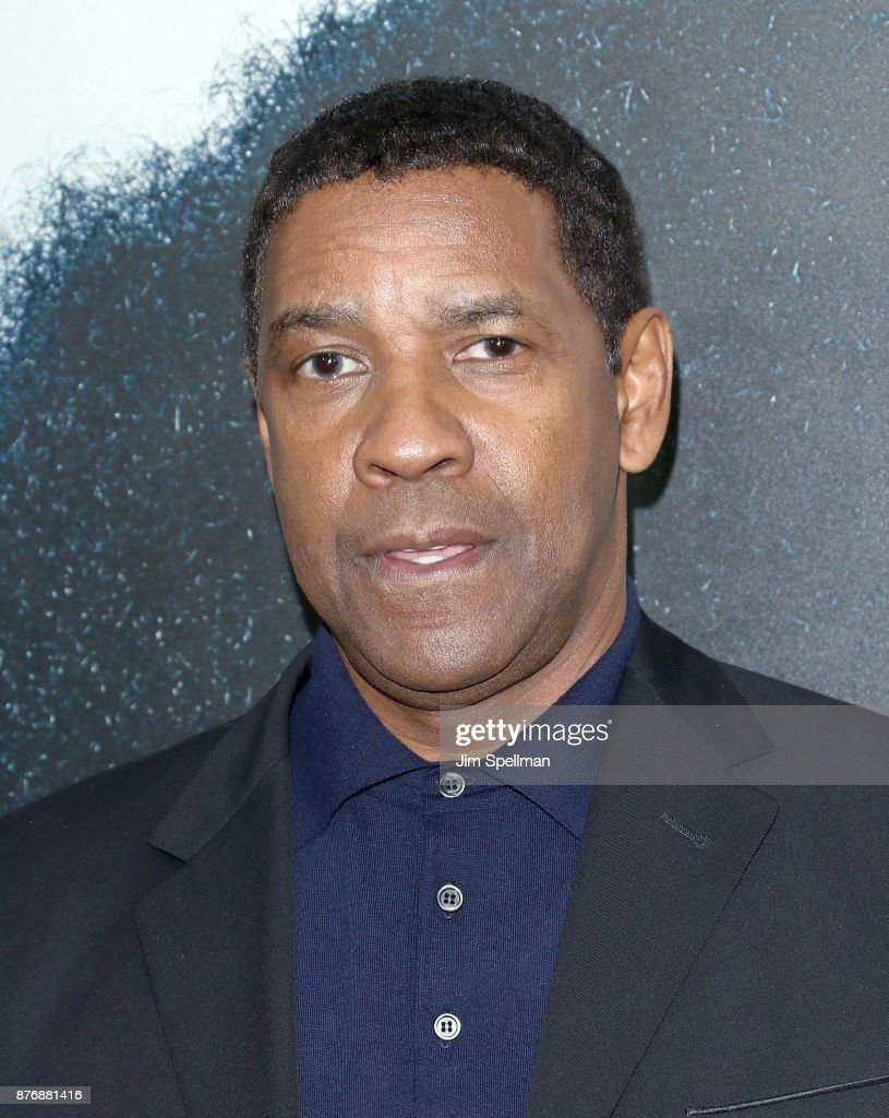 Actor Denzel Washington attends the'Roman J Israel Esquire' New York premiere at Henry R. Luce Auditorium at Brookfield Place on November 20, 2017 in New York City.