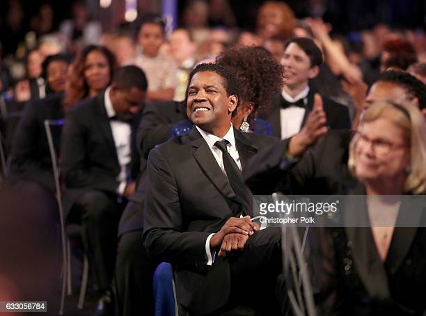 Actor Denzel Washington during The 23rd Annual Screen Actors Guild Awards at The Shrine Auditorium on January 29 2017 in Los Angeles California...