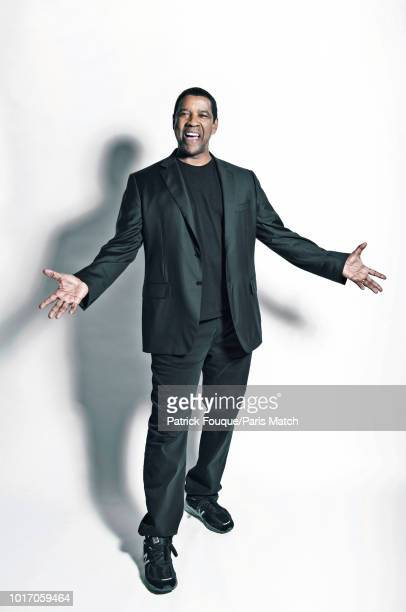 Actor Denzel Washington is photographed for Paris Match on August 6, 2018 in Paris, France.