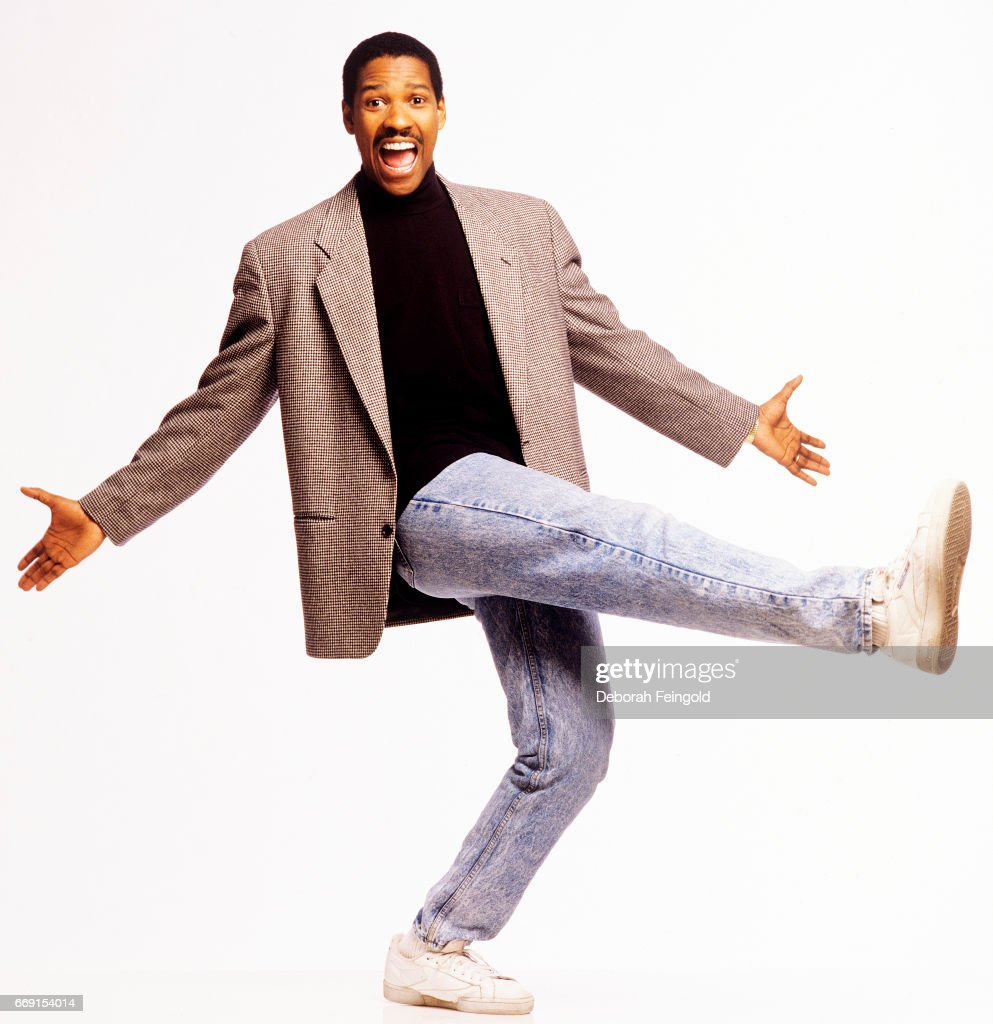 Actor Denzel Washington poses for a portrait in 1988 in New York City, New York.