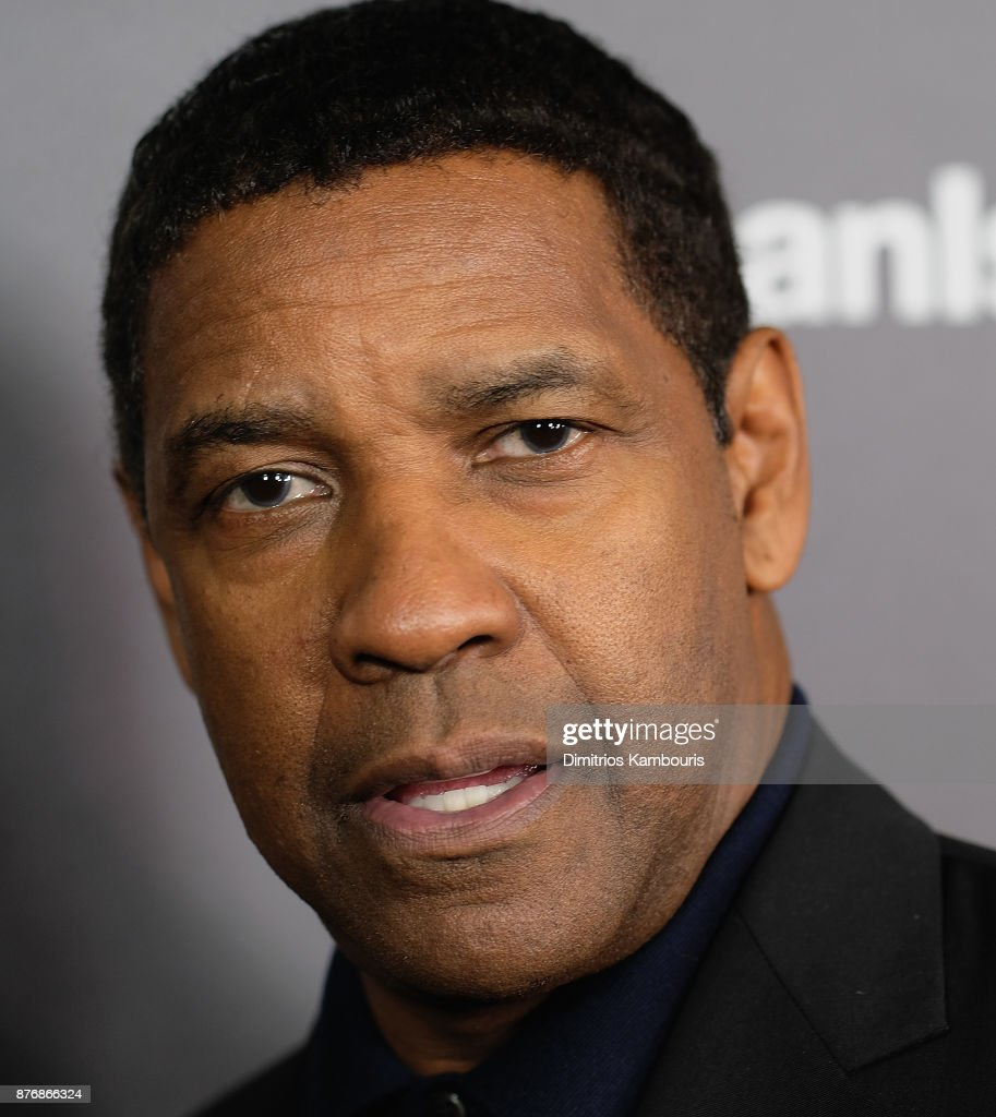 Actor Denzel Washingtonat attends the screening of Roman J. Israel, Esq. at Henry R. Luce Auditorium at Brookfield Place on November 20, 2017 in New York City.