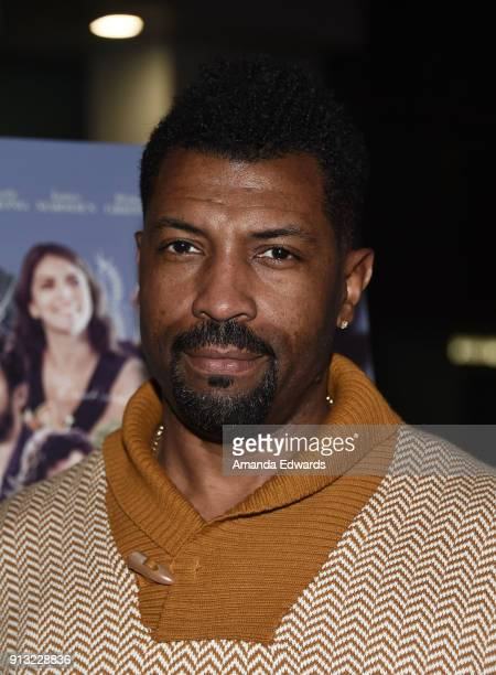 Actor Deon Cole arrives at the premiere of IFC Films' 'The Female Brain' at the ArcLight Hollywood on February 1 2018 in Hollywood California