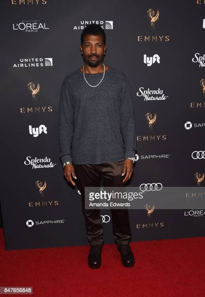 Actor Deon Cole arrives at the Television Academy's Performers Nominee Reception at the Wallis Annenberg Center for the Performing Arts on September...