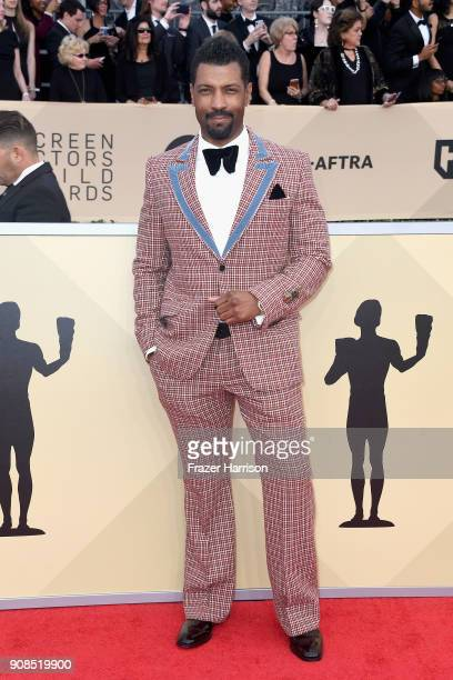 Actor Deon Cole attends the 24th Annual Screen ActorsGuild Awards at The Shrine Auditorium on January 21 2018 in Los Angeles California