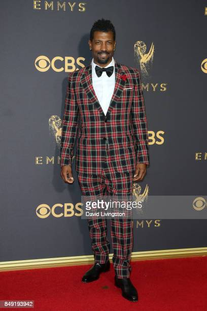 Actor Deon Cole attends the 69th Annual Primetime Emmy Awards Arrivals at Microsoft Theater on September 17 2017 in Los Angeles California