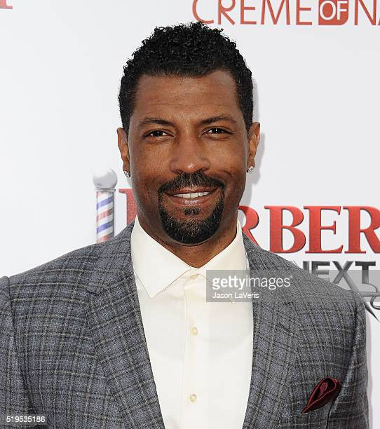 Actor Deon Cole attends the premiere of Barbershop The Next Cut at TCL Chinese Theatre on April 6 2016 in Hollywood California