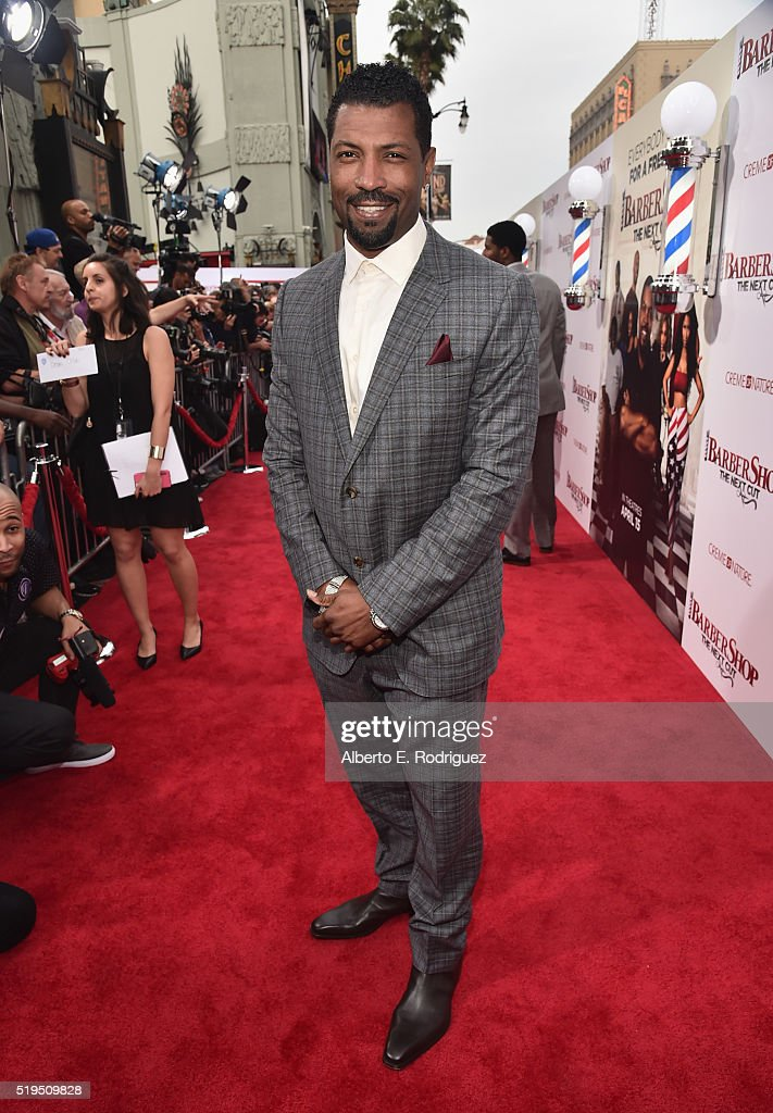 """Premiere Of New Line Cinema's """"Barbershop: The Next Cut"""" - Red Carpet"""
