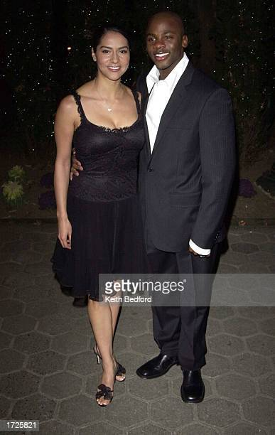 Actor Derek Luke and his wife Sofia arrive for the The National Board of Review of Motion Pictures Annual Awards Gala January 14 2003 in New York...