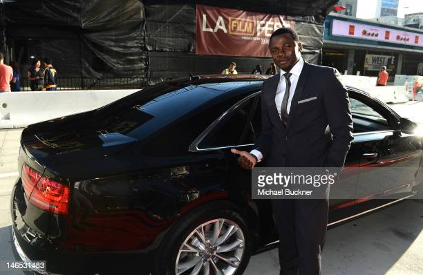 Actor Derek Luke arrives at Focus Features' Premiere of 'Seeking A Friend For The End Of The World' at LA Live on June 18 2012 in Los Angeles...