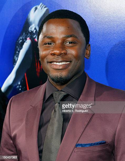 """Actor Derek Luke arrives at the Los Angeles Premiere of """"Sparkle"""" at Grauman's Chinese Theatre on August 16, 2012 in Hollywood, California."""