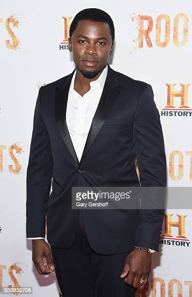 Actor Derek Luke attends the Roots night one screening at Alice Tully Hall Lincoln Center on May 23 2016 in New York City