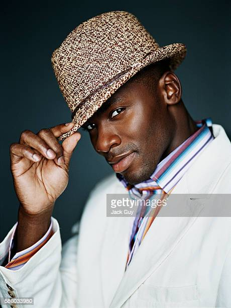Actor Derek Luke is photographed in 2005 in Los Angeles California PUBLISHED IMAGE