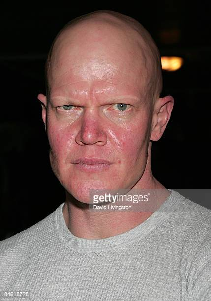 Actor Derek Mears attends Anchor Bay Entertainment's Jason Voorhees reunion at Dark Delicacies Bookstore on February 3 2009 in Burbank California