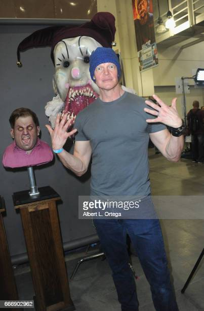 Actor Derek Mears attends day 2 of the 2017 Monsterpalooza held at Pasadena Convention Center on April 9 2017 in Pasadena California