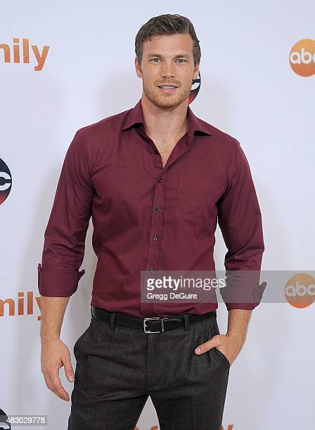 Actor Derek Theler arrives at the Disney ABC Television Group's 2015 TCA Summer Press Tour on August 4 2015 in Beverly Hills California