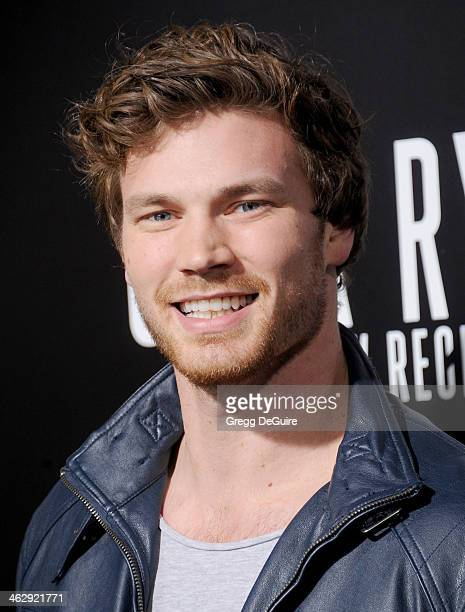 Actor Derek Theler arrives at the Los Angeles premiere of Jack Ryan Shadow Recruit at TCL Chinese Theatre on January 15 2014 in Hollywood California