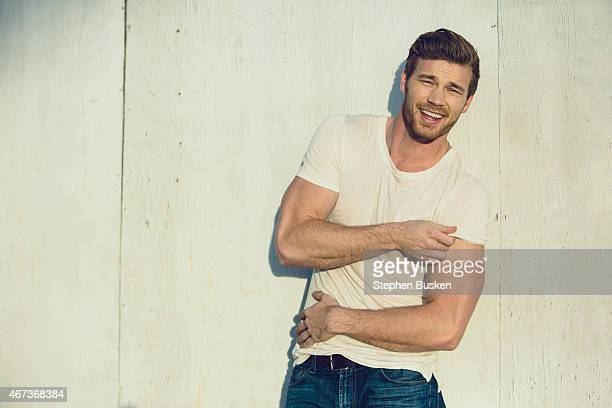 Actor Derek Theler is photographed for Glamoholic on November 24 2014 in Hollywood California