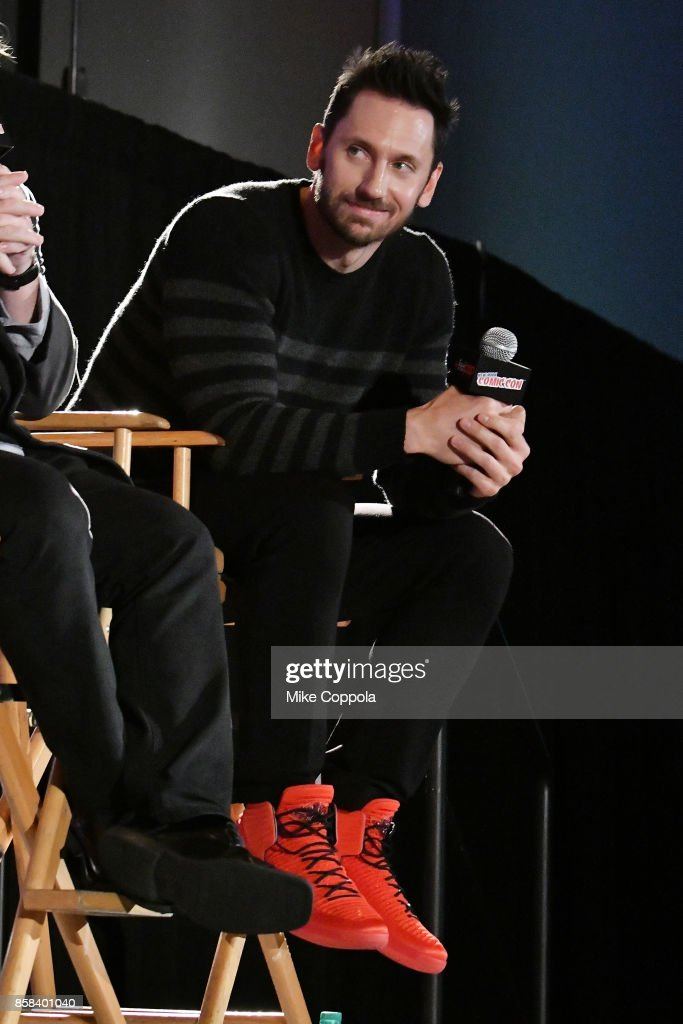 Actor Derek Wilson participates in Hulu's Future Man panel at New York Comic Con at Jacob Javits Center on October 6, 2017 in New York City.