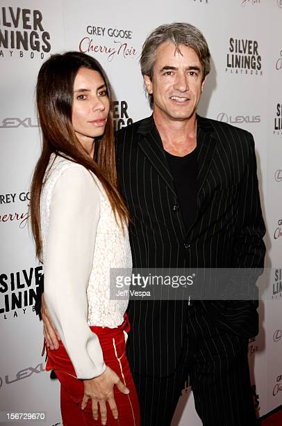 Actor Dermot Mulroney and Tharita Catulle attend a special screening of Silver Linings Playbook presented by The Weinstein Company sponsored by Grey...