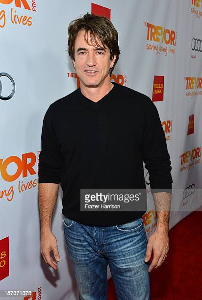 Actor Dermot Mulroney arrives at Trevor Live honoring Katy Perry and Audi of America for The Trevor Project held at The Hollywood Palladium on...