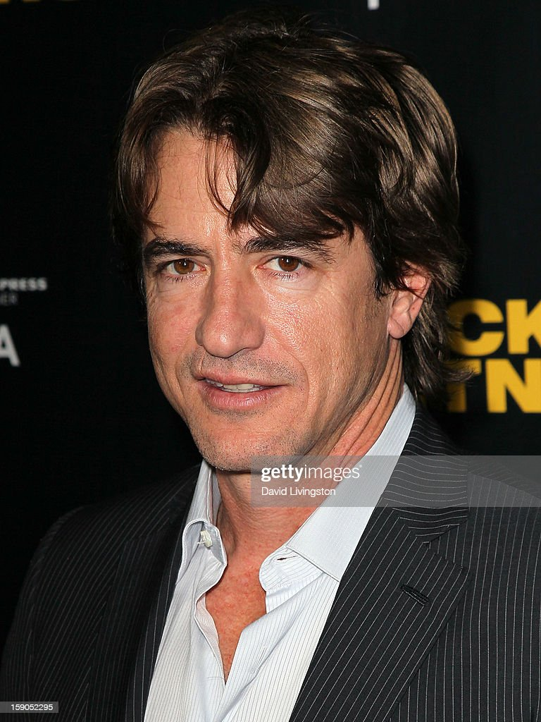 Actor Dermot Mulroney attends a screening of Tribeca Film's 'Struck By Lightning' at Mann Chinese 6 on January 6, 2013 in Los Angeles, California.