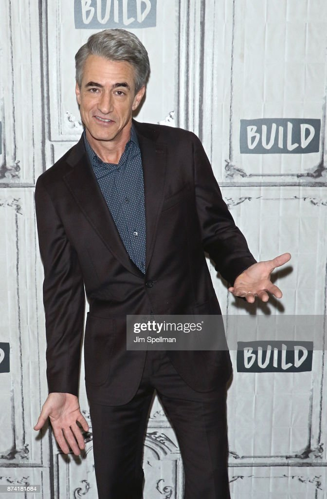 "Build Presents Dermot Mulroney Discussing ""The Christmas Train"""