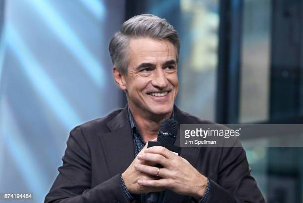 Actor Dermot Mulroney attends Build to Discuss 'The Christmas Train' at Build Studio on November 14 2017 in New York City