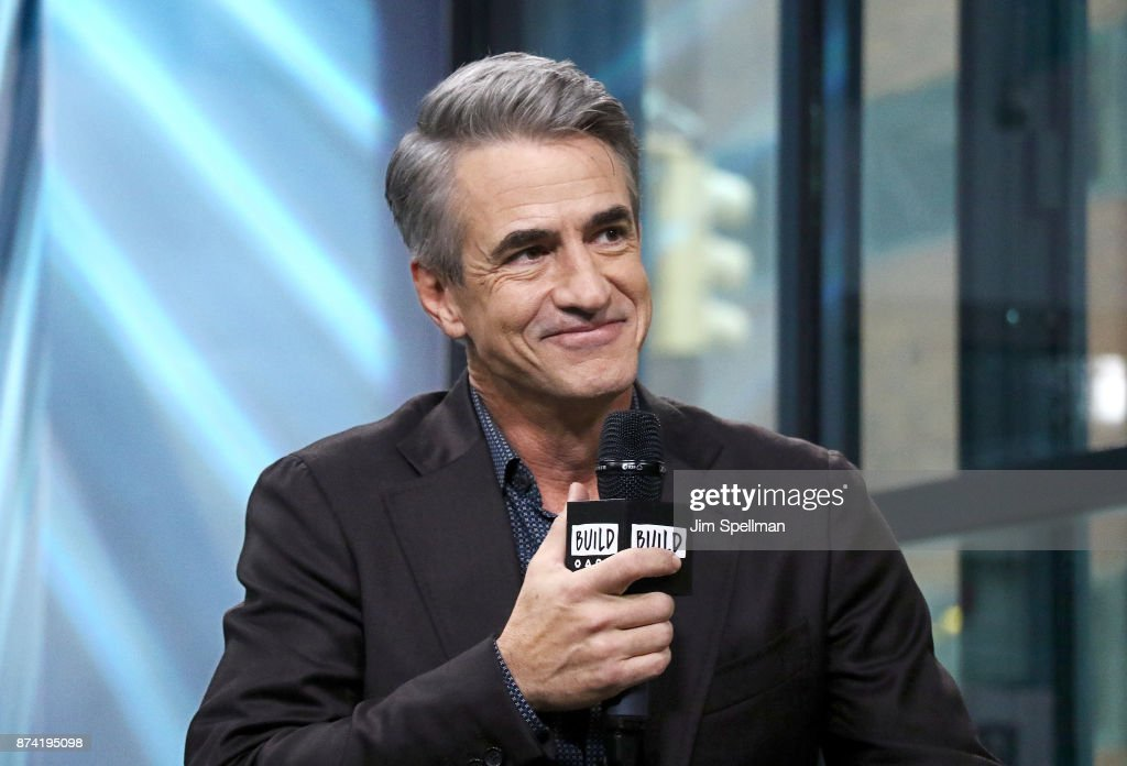 Actor Dermot Mulroney attends Build to Discuss 'The Christmas Train' at Build Studio on November 14, 2017 in New York City.