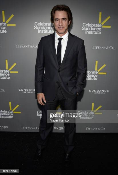 Actor Dermot Mulroney attends the 2013 'Celebrate Sundance Institute' Los Angeles Benefit hosted by Tiffany Co at The Lot on June 5 2013 in West...