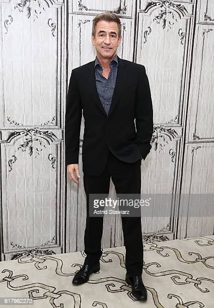 Actor Dermot Mulroney attends The Build Series Presents Dermot Mulroney Discussing The New Show 'Pure Genius' at AOL HQ on October 25 2016 in New...