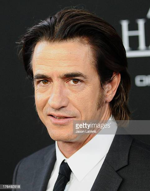 """Actor Dermot Mulroney attends the premiere of """"Jobs"""" at Regal Cinemas L.A. Live on August 13, 2013 in Los Angeles, California."""
