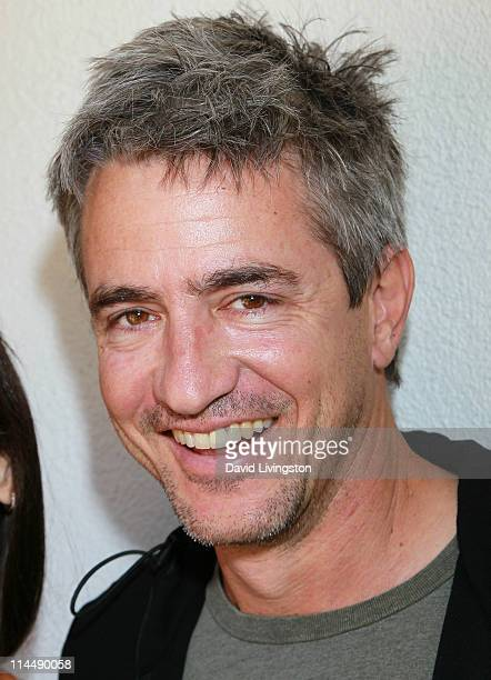 Actor Dermot Mulroney attends the Rise Up Christchurch telethon appeal event at the residence of the New Zealand ConsulateGeneral on May 21 2011 in...