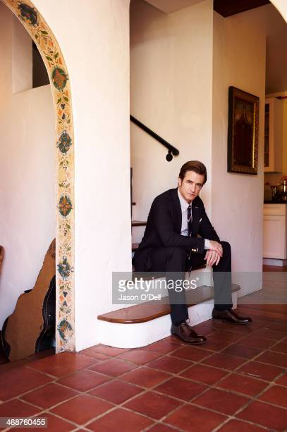 Actor Dermot Mulroney is photographed for New York Moves on January 31 2013 in Los Angeles California PUBLISHED IMAGE