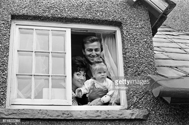 Actor Des O'Connor with wife actress Gillian Vaughan and daughter Tracy Jane 6th August 1963