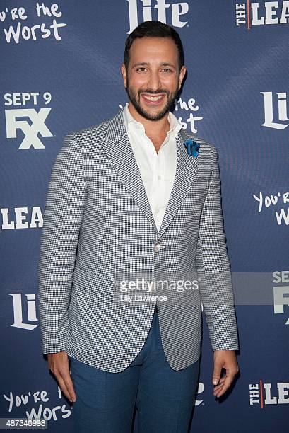 """Actor Desmin Borges attends the premiere of FXX's """"The League"""" Final Season and """"You're The Worst"""" 2nd Season at Regency Bruin Theater on September..."""