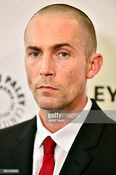Actor Desmond Harrington arrives at the 2013 Fall Farewell Dexter at The Paley Center for Media on September 12 2013 in Beverly Hills California