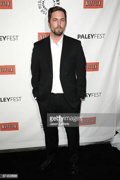 Actor Desmond Harrington attends the Dexter event at the 27th annual PaleyFest at Saban Theatre on March 4 2010 in Beverly Hills California
