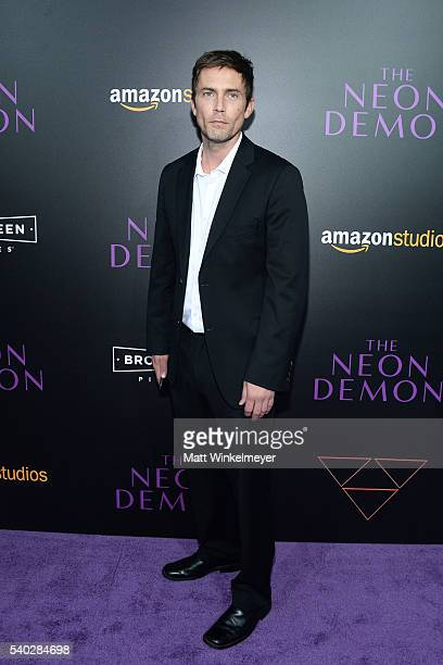 Actor Desmond Harrington attends the premiere of Amazon's The Neon Demon at ArcLight Cinemas Cinerama Dome on June 14 2016 in Hollywood California