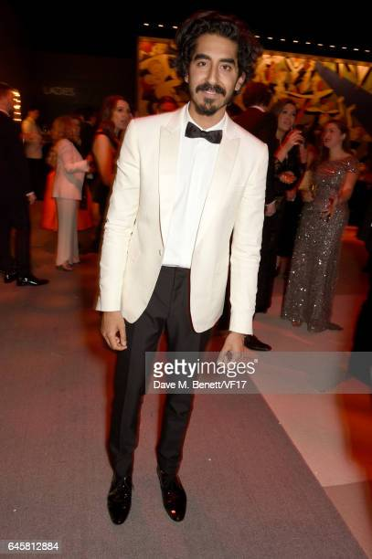 Actor Dev Patel attends the 2017 Vanity Fair Oscar Party hosted by Graydon Carter at Wallis Annenberg Center for the Performing Arts on February 26...