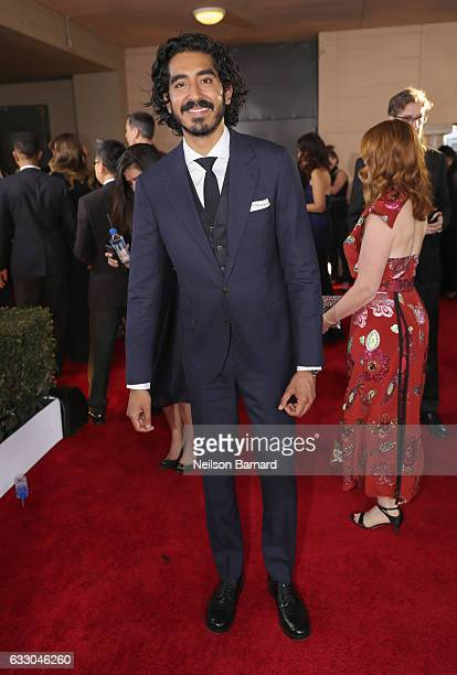 Actor Dev Patel attends the 23rd Annual Screen Actors Guild Awards at The Shrine Expo Hall on January 29 2017 in Los Angeles California