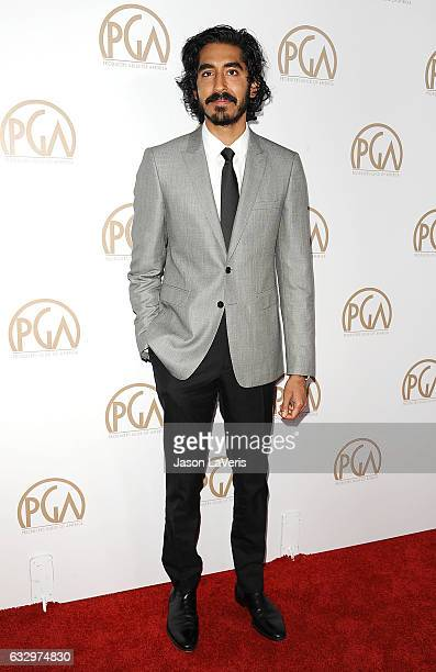 Actor Dev Patel attends the 28th annual Producers Guild Awards at The Beverly Hilton Hotel on January 28 2017 in Beverly Hills California