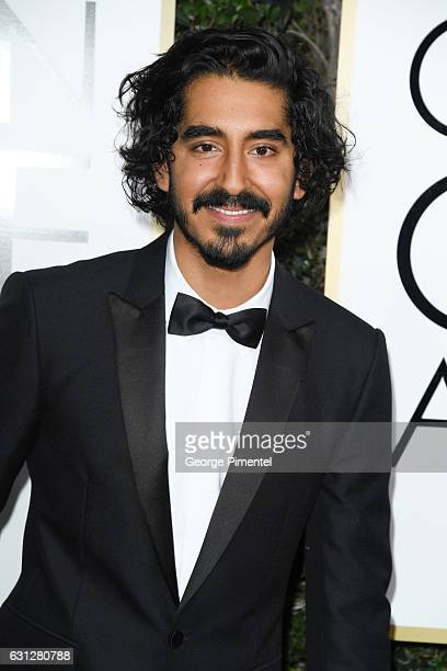 Actor Dev Patel attends the 74th Annual Golden Globe Awards at The Beverly Hilton Hotel on January 8 2017 in Beverly Hills California