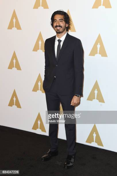 Actor Dev Patel attends the 89th Annual Academy Awards Nominee Luncheon at The Beverly Hilton Hotel on February 6 2017 in Beverly Hills California