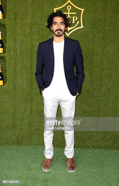 Actor Dev Patel attends the 8th Annual Veuve Clicquot Polo Classic at Will Rogers State Historic Park on October 14, 2017 in Pacific Palisades,...